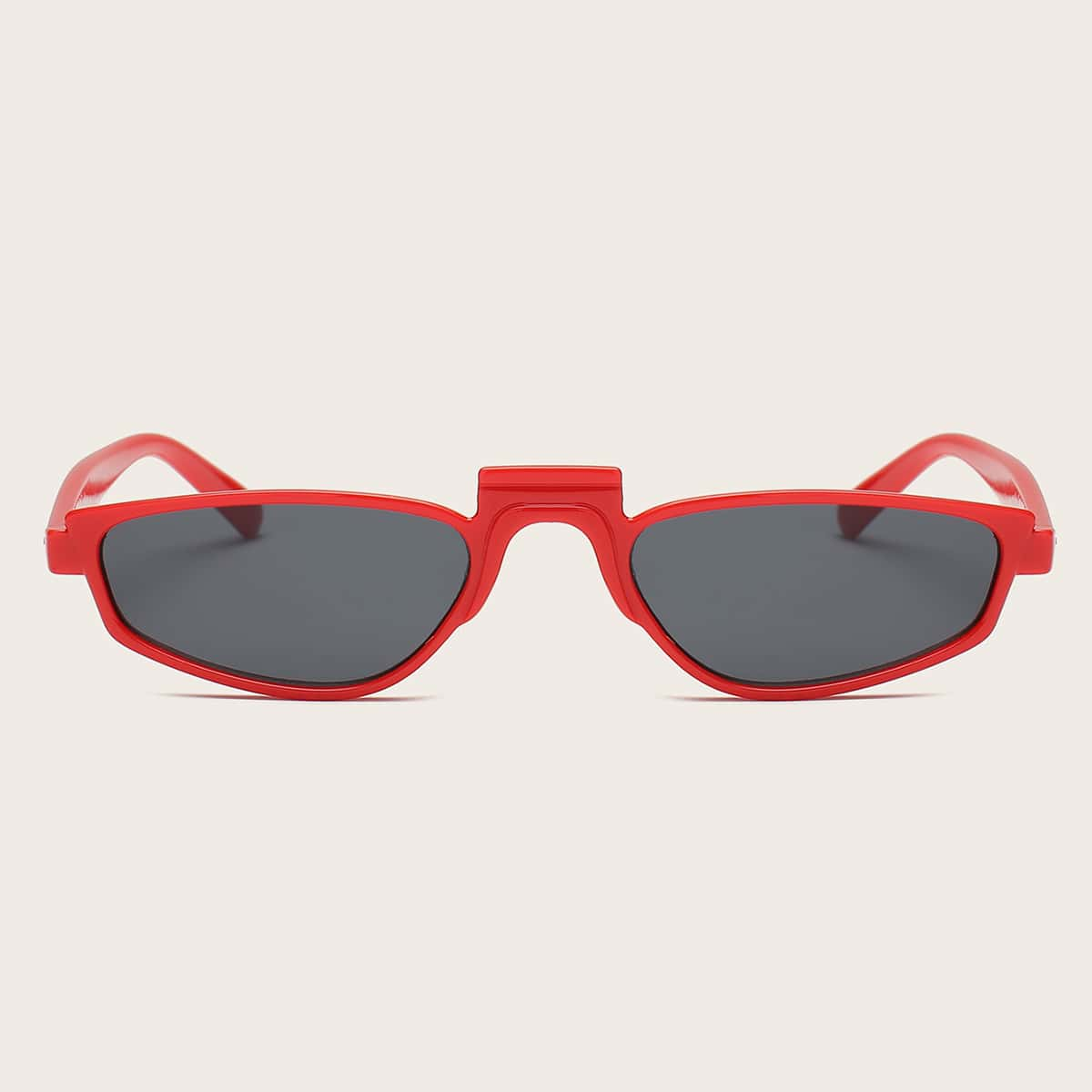 Acrylic Irregular Frame Sunglasses