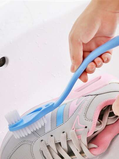 1pc Double Head Shoes Cleaning Brush