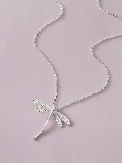 1pc Dragonfly Charm Necklace
