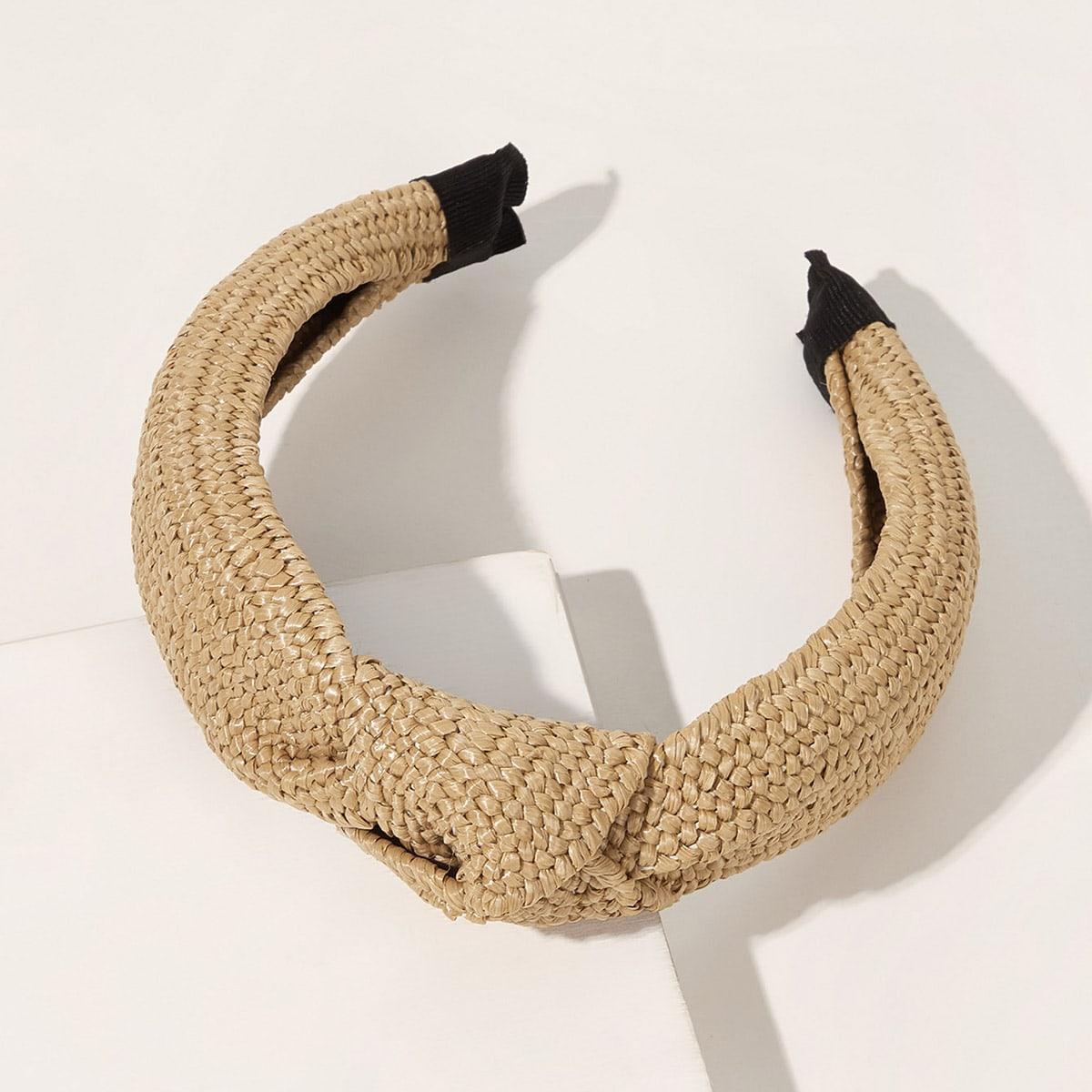 Braided Knot Decor Hair Hoop