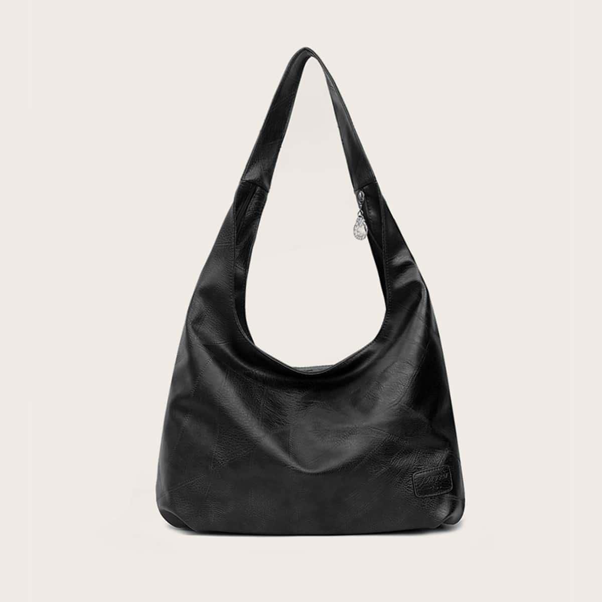 Минималистская сумка-хобо