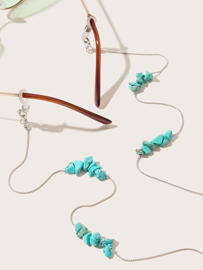 Turquoise Decor Glasses Chain