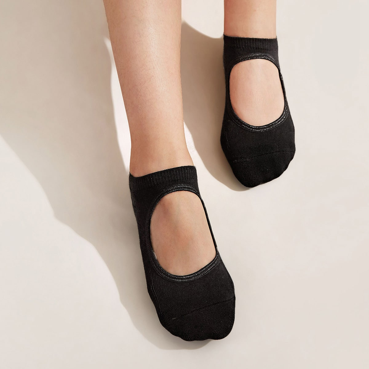 1pair Non-slip Sports Yoga Socks