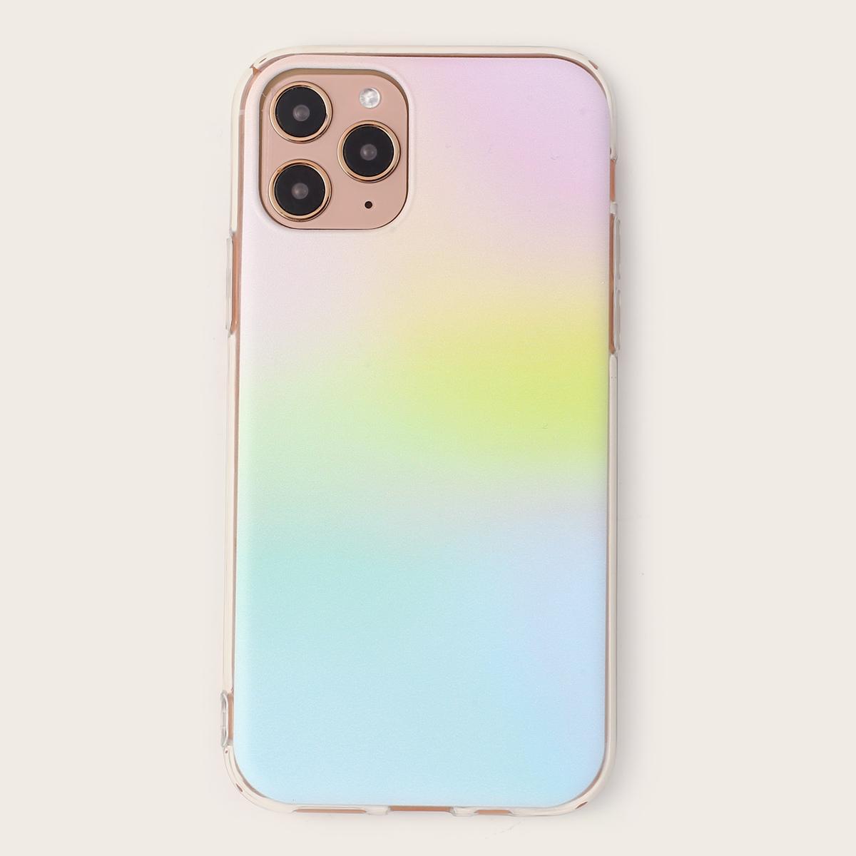 iPhone Hülle mit Farbverlauf Muster