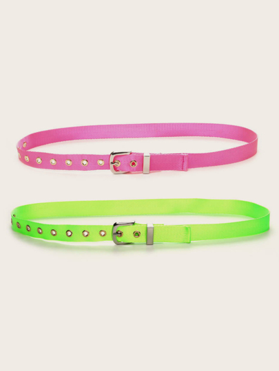 2pcs Neon Tape Belt