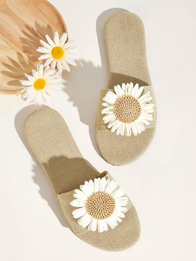 Daisy Decor Wide Fit Sliders