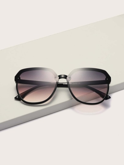 Acrylic Frame Sunglasses With Case