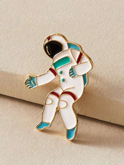 1pc Astronaut Design Brooch