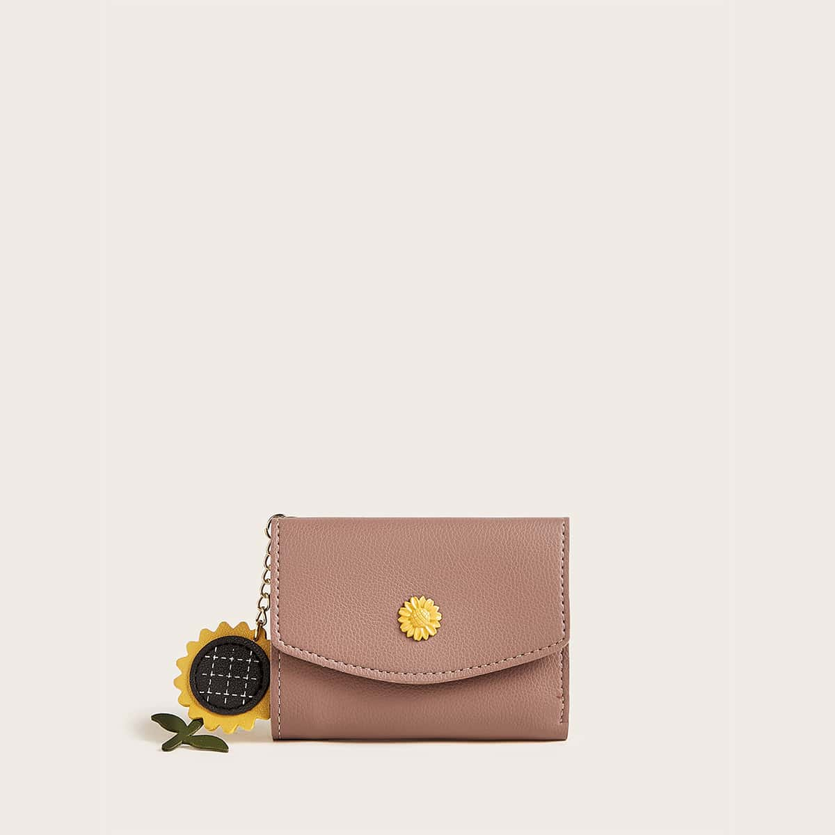 Sunflower Charm Purse