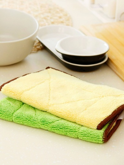 1pc Thick Absorbent Cleaning Cloth
