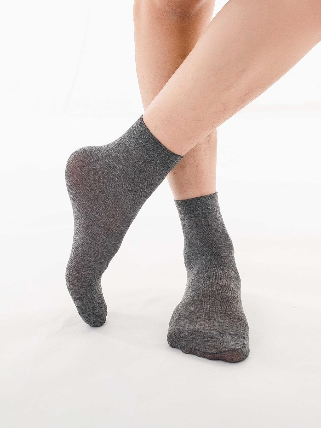 Newdora 6 Pares Calcetines Para Hombre y Mujer,Calcet/ín Unisex Adulto S/úper Suaves y C/ómodos,Calcetines hasta la Pantorrilla Transpirables e Deportivos