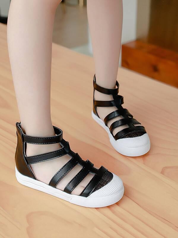 Girls Youth Kids Gladiator Sandal #Cole-2s
