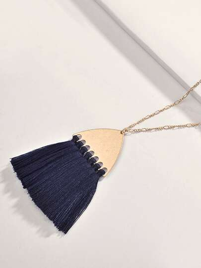 1pc Tassel Charm Necklace