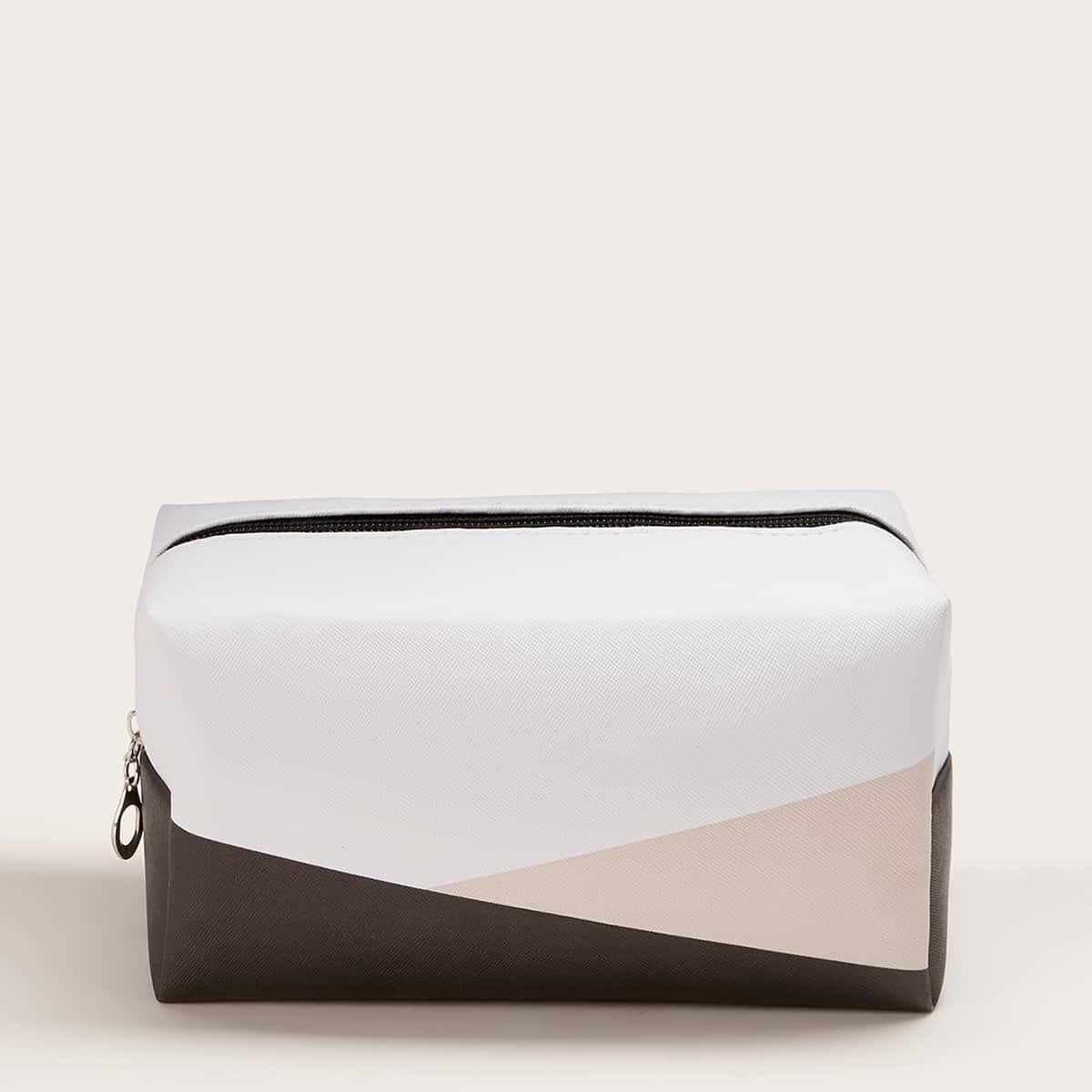 Контрастная косметическая сумка