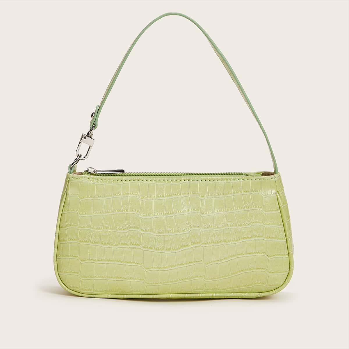 Рельефная сумка-бакет