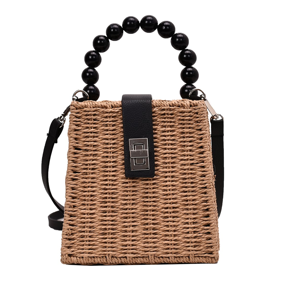 Плетеная сумка-сэтчел