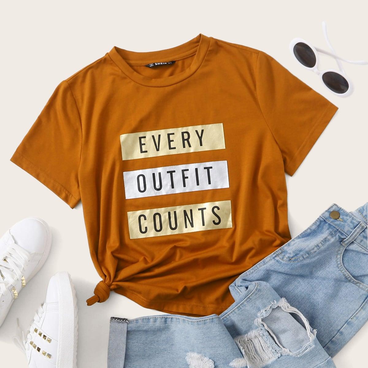 Bruin Casual Slogan T-shirt