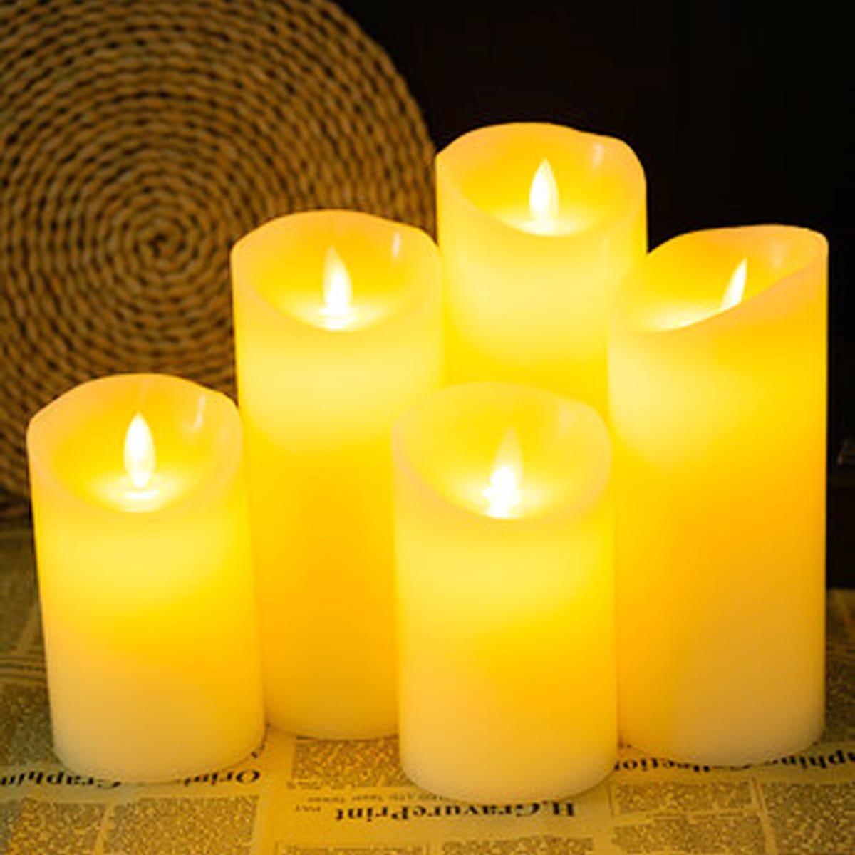 1шт ночной свет в форме свечи