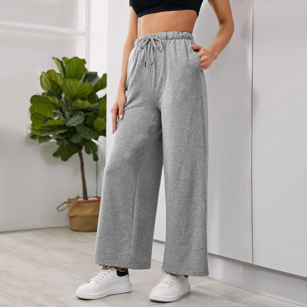 Спортивные брюки на кулиске