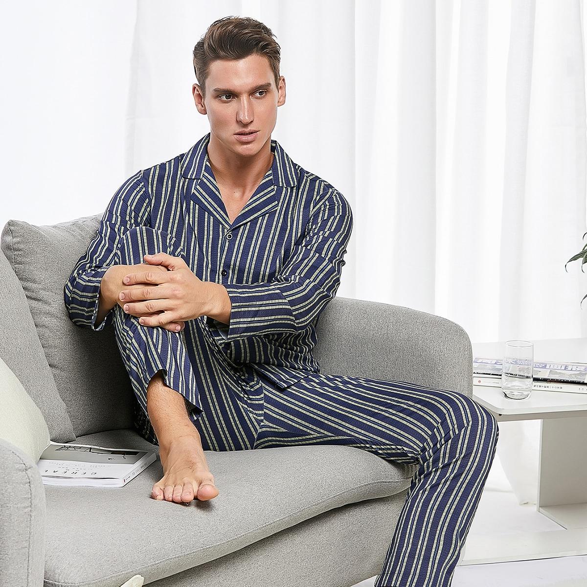 Мужская полосатая пижама