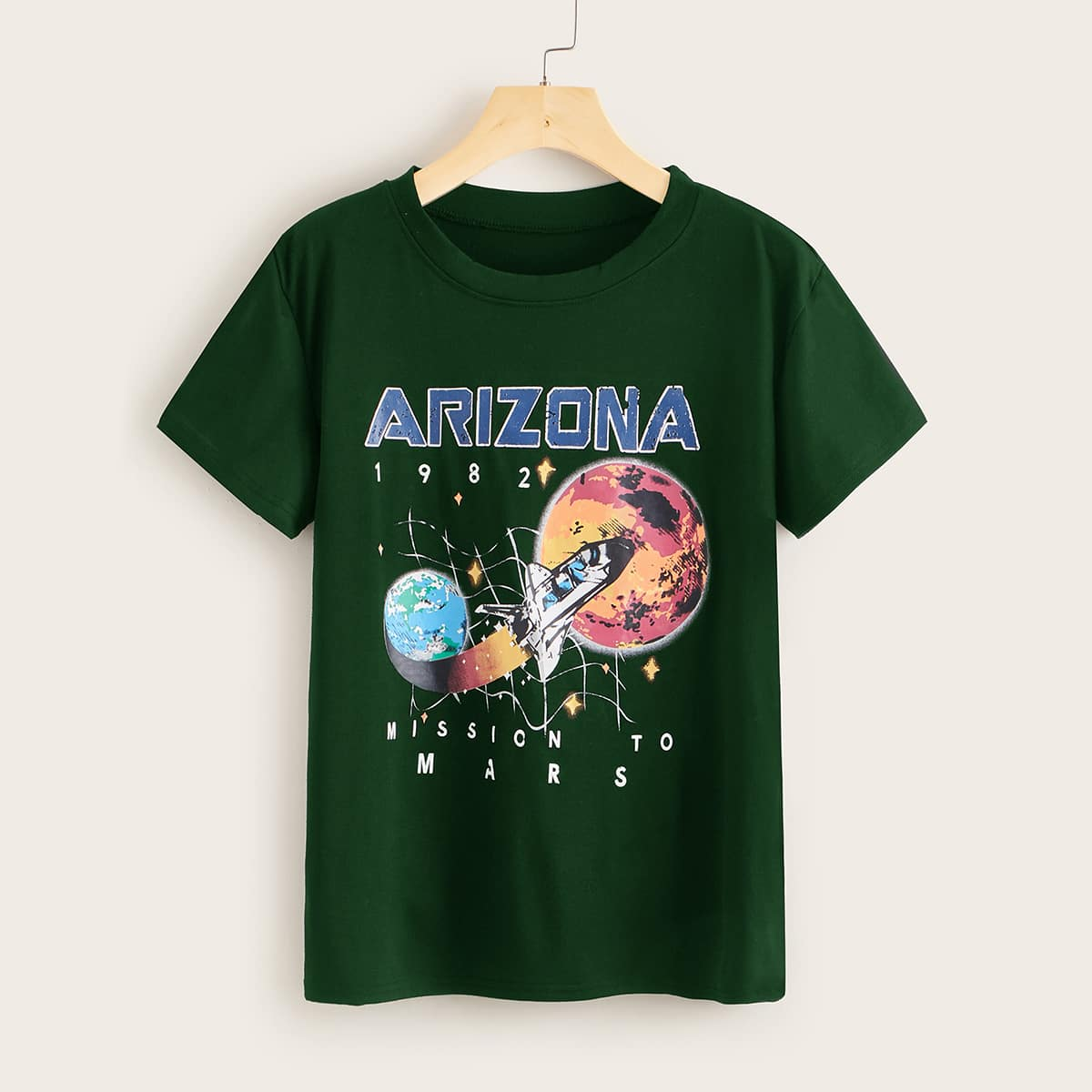 Rocket & Letter Graphic Tee thumbnail
