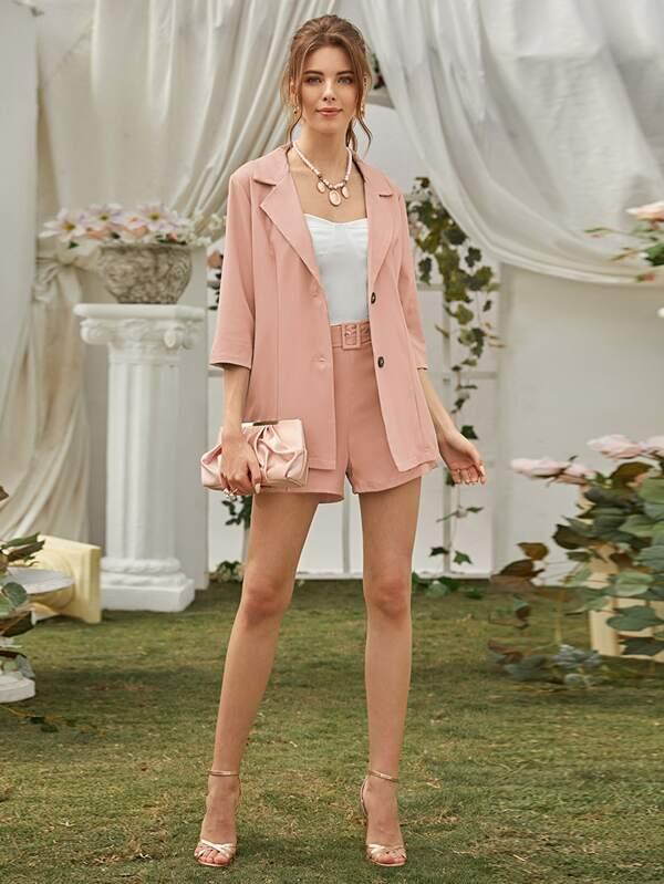 Skirt suit of wedding