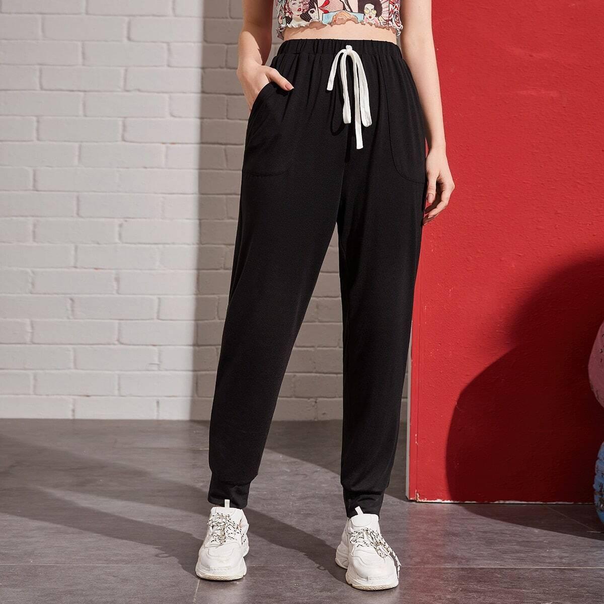 Модные брюки с карманом