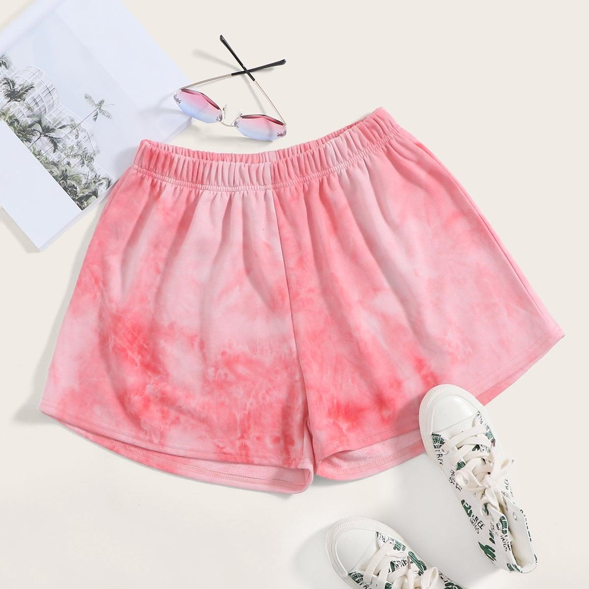 Roze  Casual Tie dye Lounge bottoms