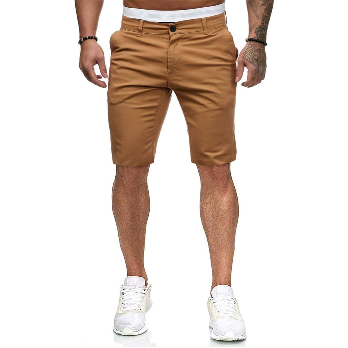 Мужские шорты с карманом
