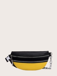 kids colorblock fanny pack