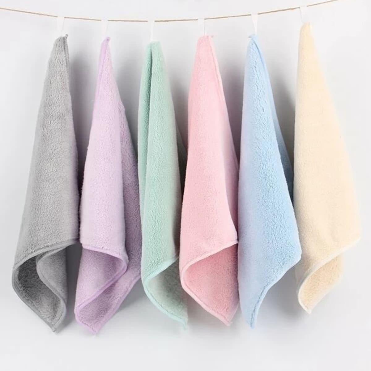 1шт абсорбирующее полотенце случайного цвета