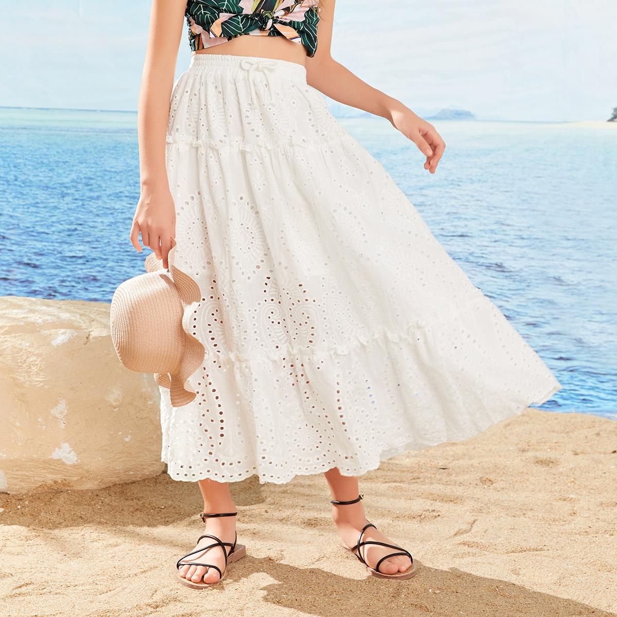 Стильная юбка для девочек