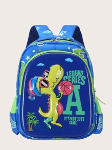kids cartoon graphic backpack