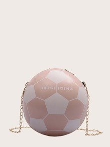 kids ball shaped chain bag