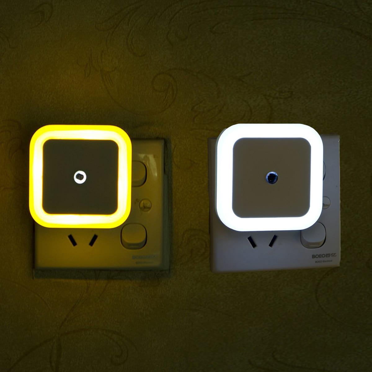 1 Stück Lichtsteuerung Induktion Quadratische Wandleuchte
