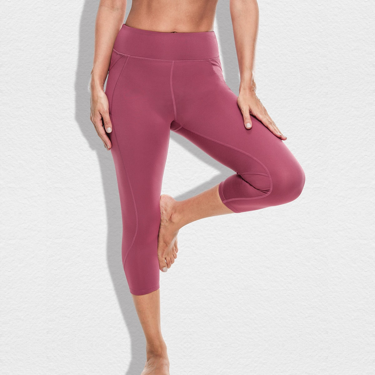 Vutru Pocket Side Topstitch Detail  Sports Leggings thumbnail