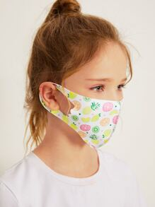 kids graphic face mask