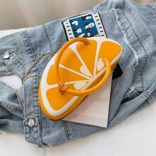 Lemon Chain Crossbody Bag
