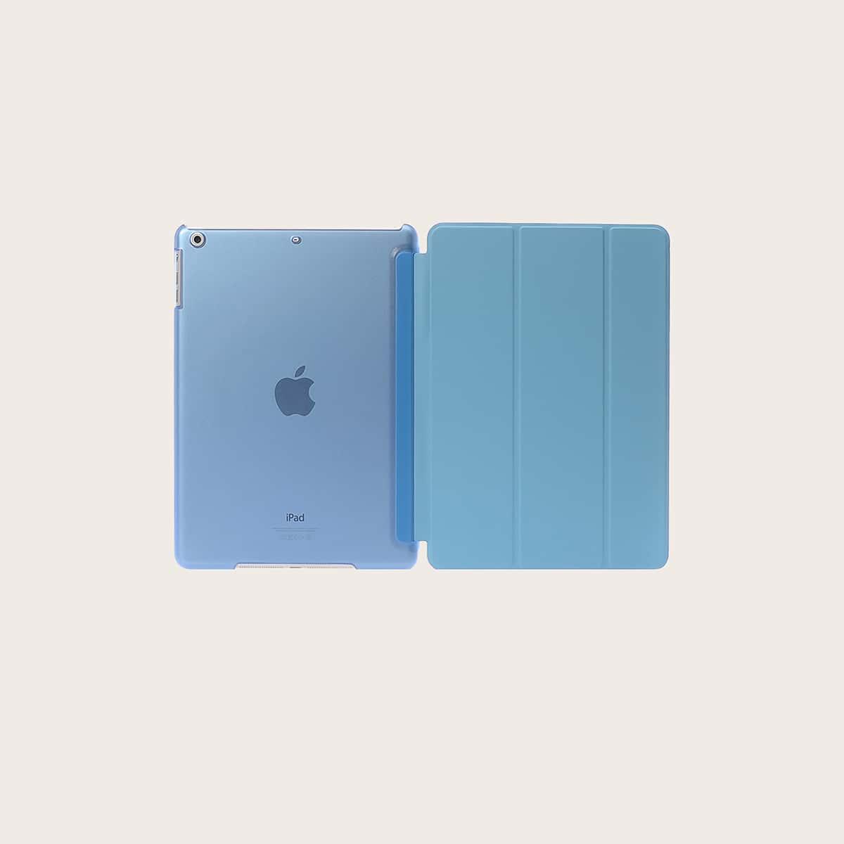 Einfarbige iPad Hülle