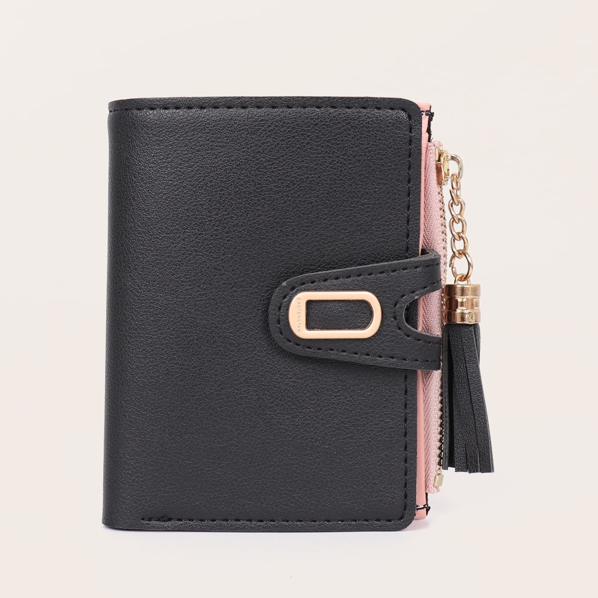 Brieftasche mit Quasten Dekor und Kartenhalter