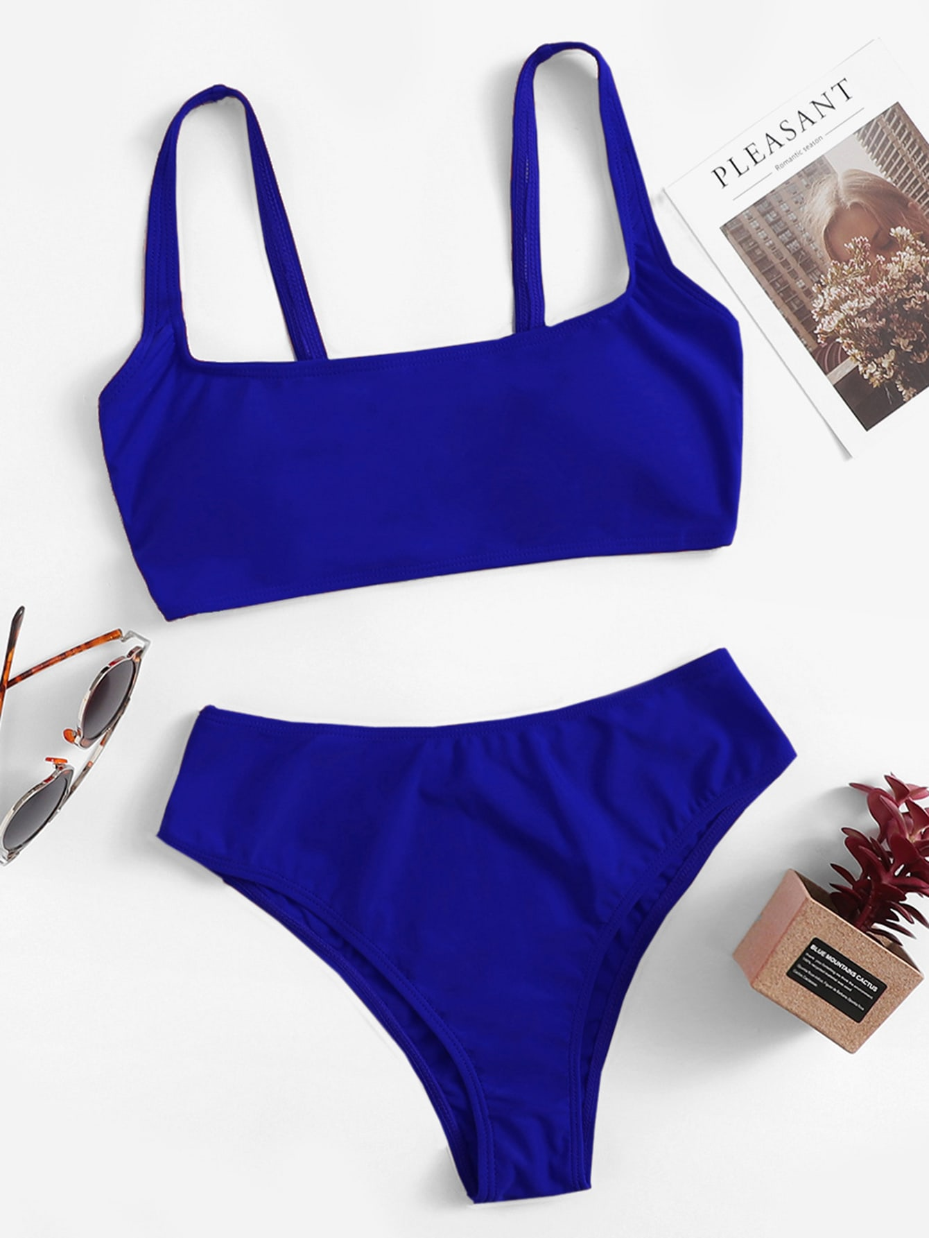Square Neck Bikini Swimsuit thumbnail