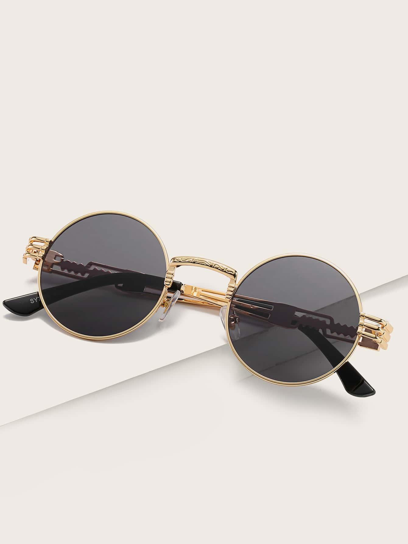 Metal Frame Round Lense Sunglasses thumbnail