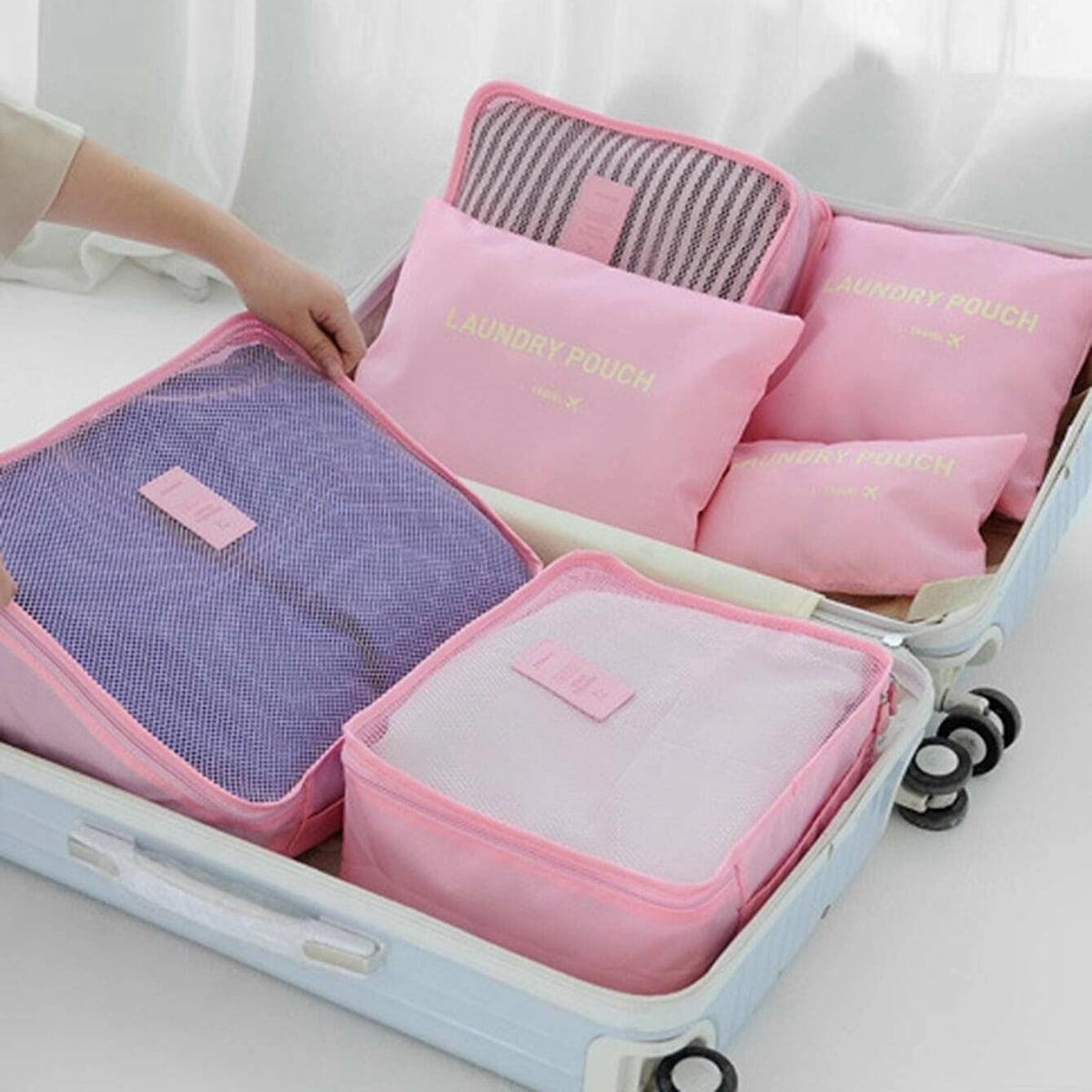 6шт портативная дорожная сумка для хранения