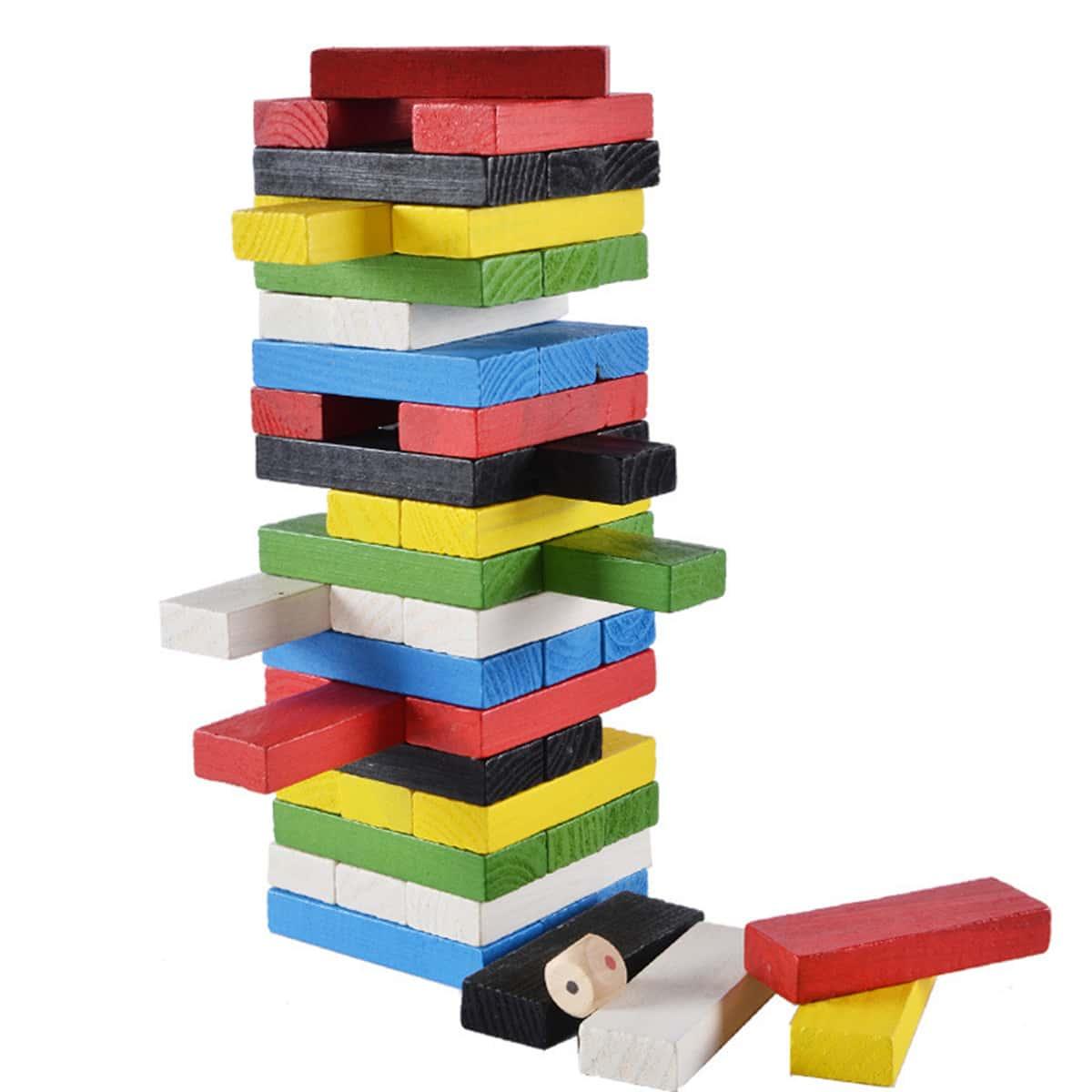 Детские прямоугольные кубики 48шт