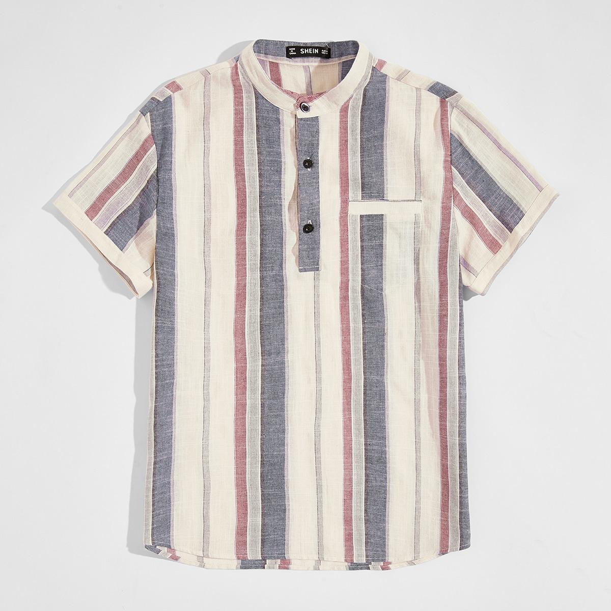 Мужская полосатая рубашка