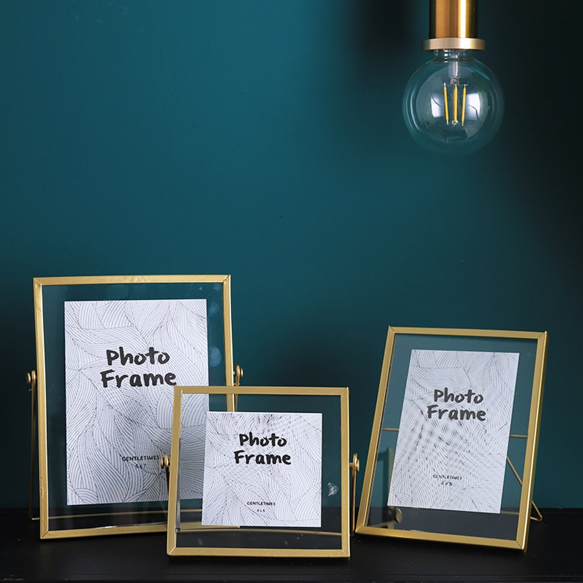 1pc Metal Photo Frame