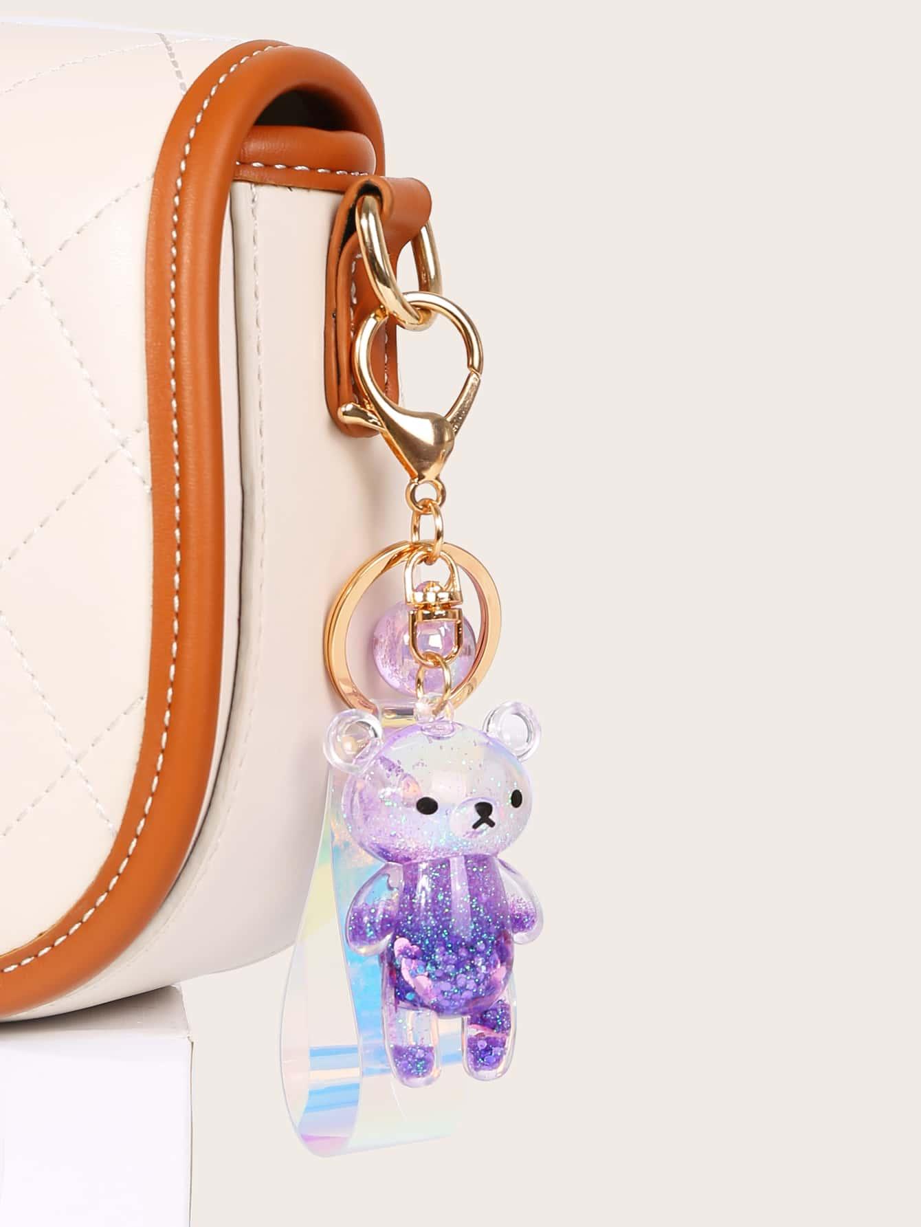 Подвеска для сумки с декором медведяswbag18200602570