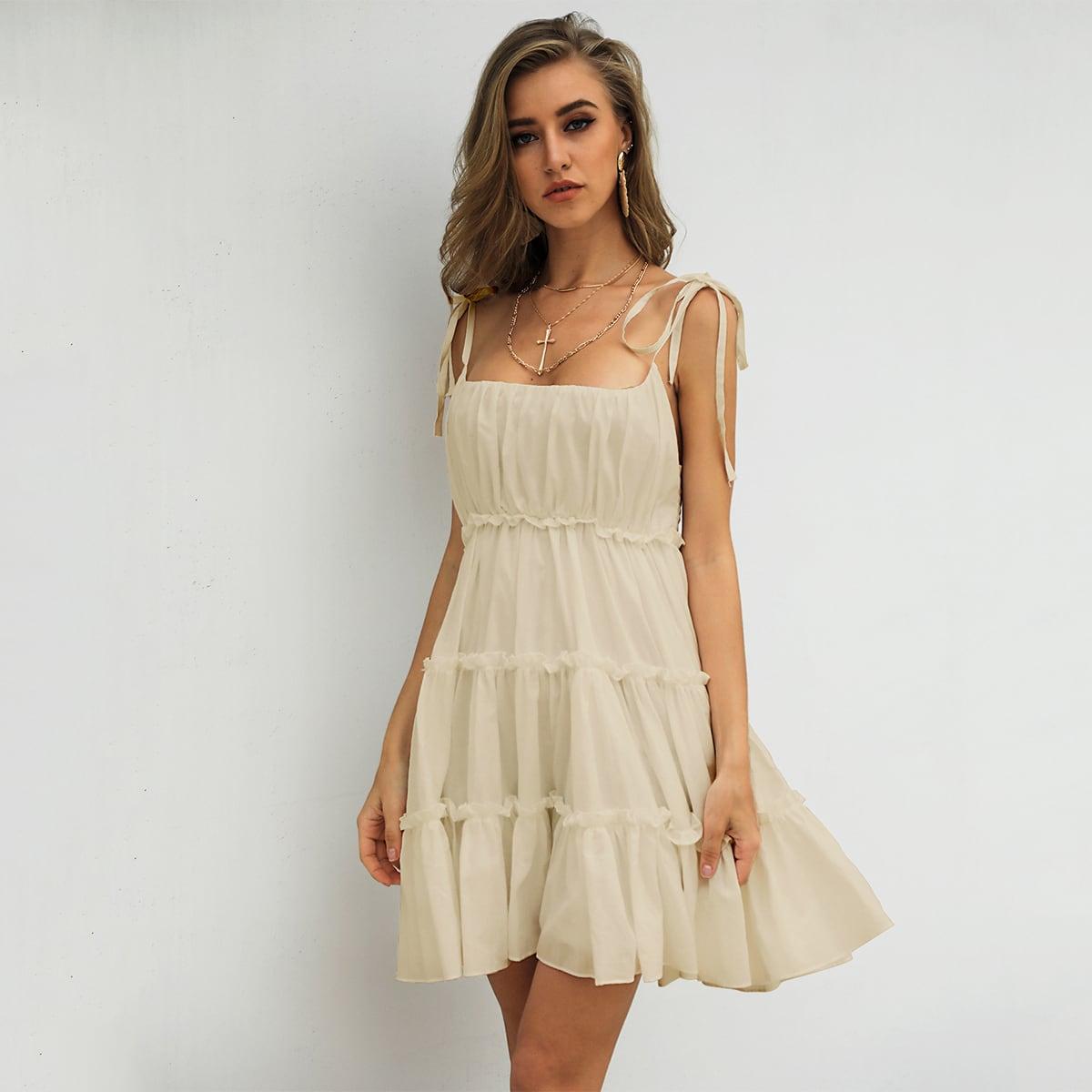 Платье на бретелях SheIn swdress42200602639