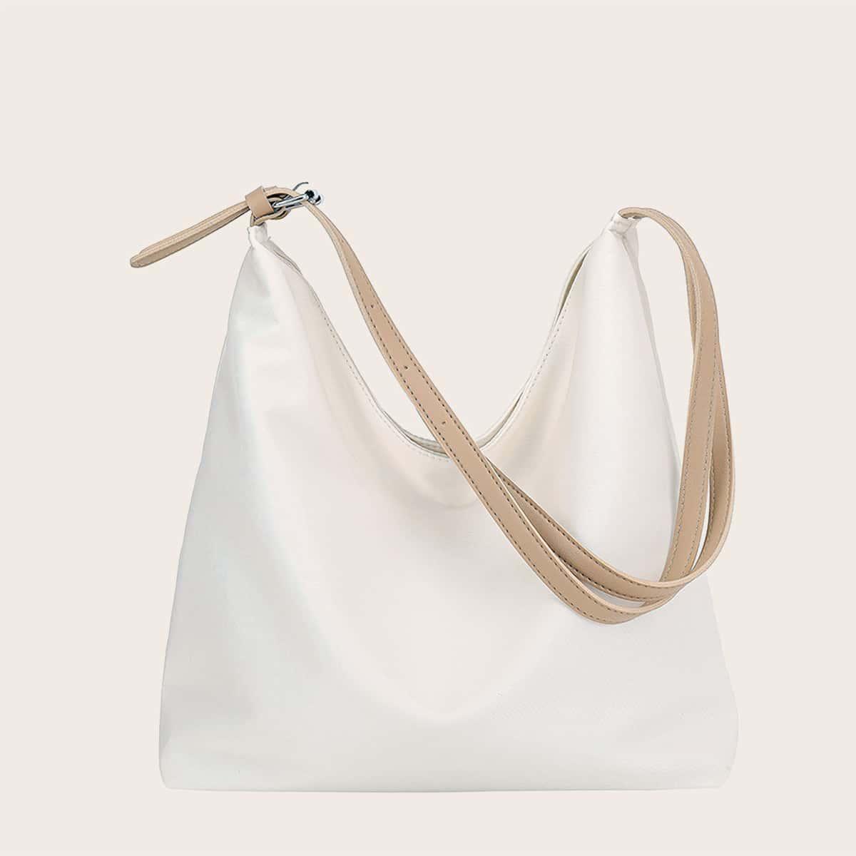 Минималистская сумка хобо большей емкости