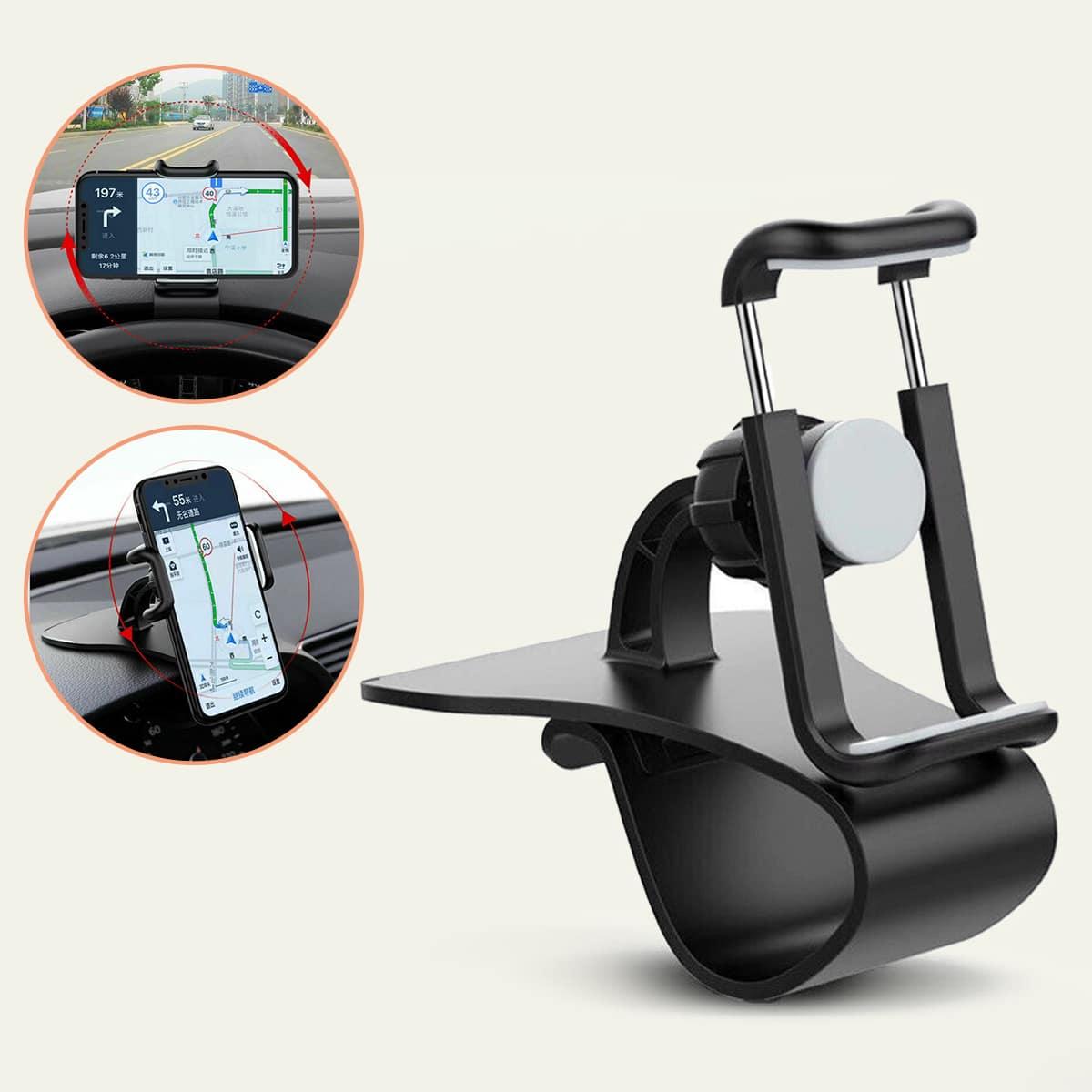 1 pezzo supporto per telefono per auto rotazione di 360 gradi